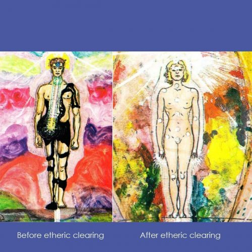 Etheric clearing transform yourself online retreat