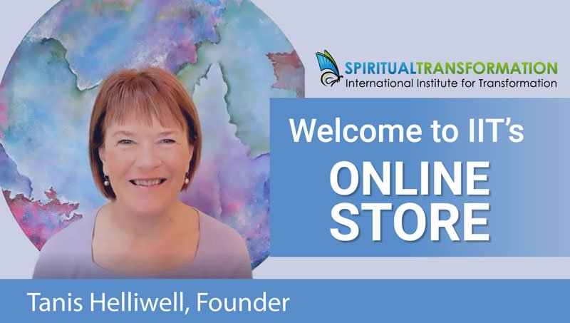 Tanis Helliwell Online Store Spiritual Transformation