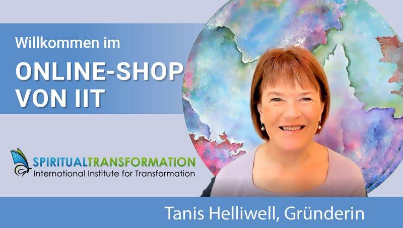 Tanis Helliwell Willkommen Online Shop